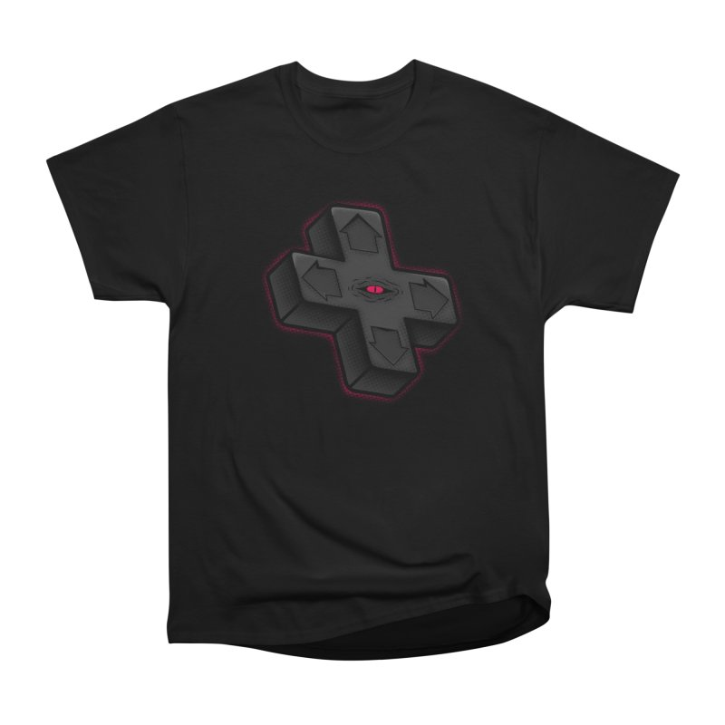 THE D-PAD FROM THE BEYOND! Men's Heavyweight T-Shirt by UNDEAD MISTER