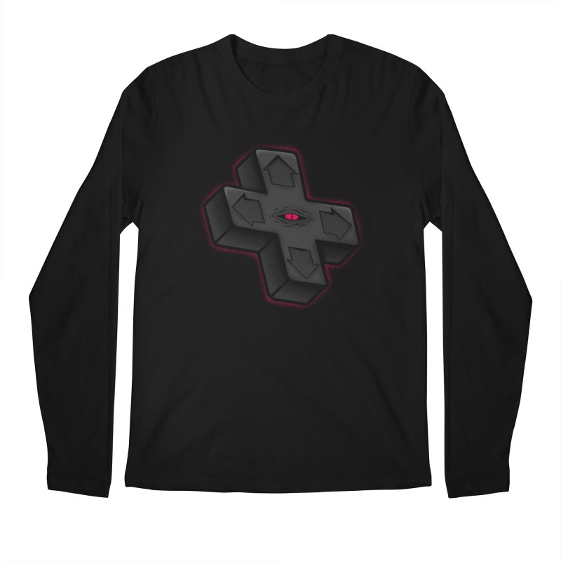 THE D-PAD FROM THE BEYOND! Men's Regular Longsleeve T-Shirt by UNDEAD MISTER