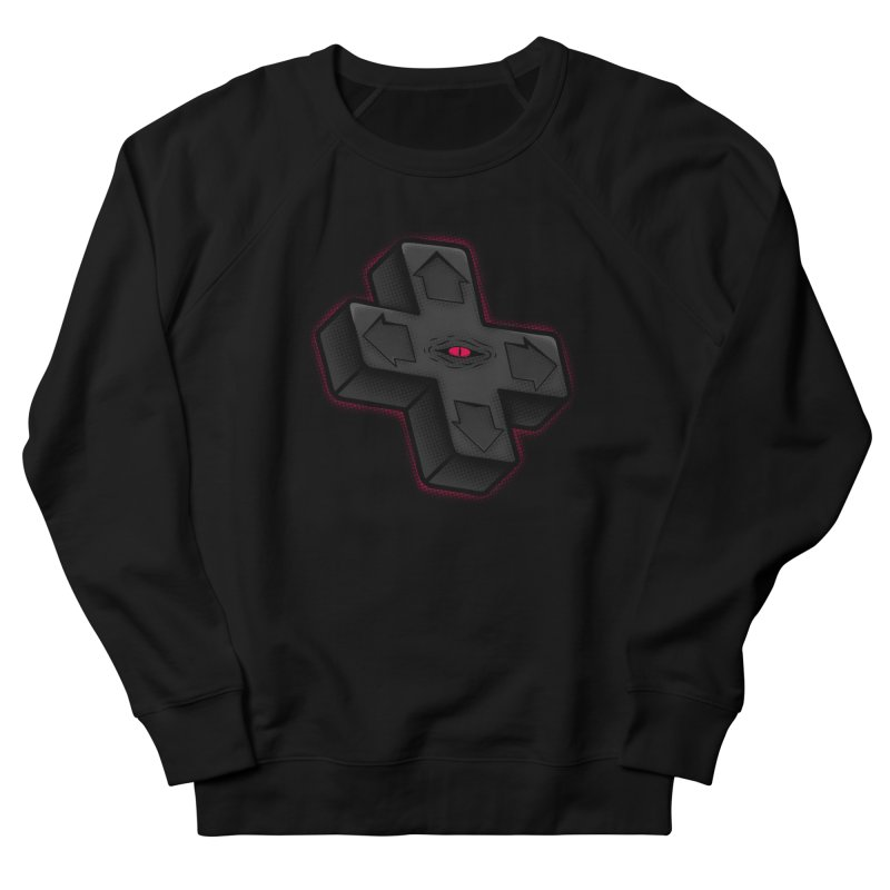 THE D-PAD FROM THE BEYOND! Men's French Terry Sweatshirt by UNDEAD MISTER