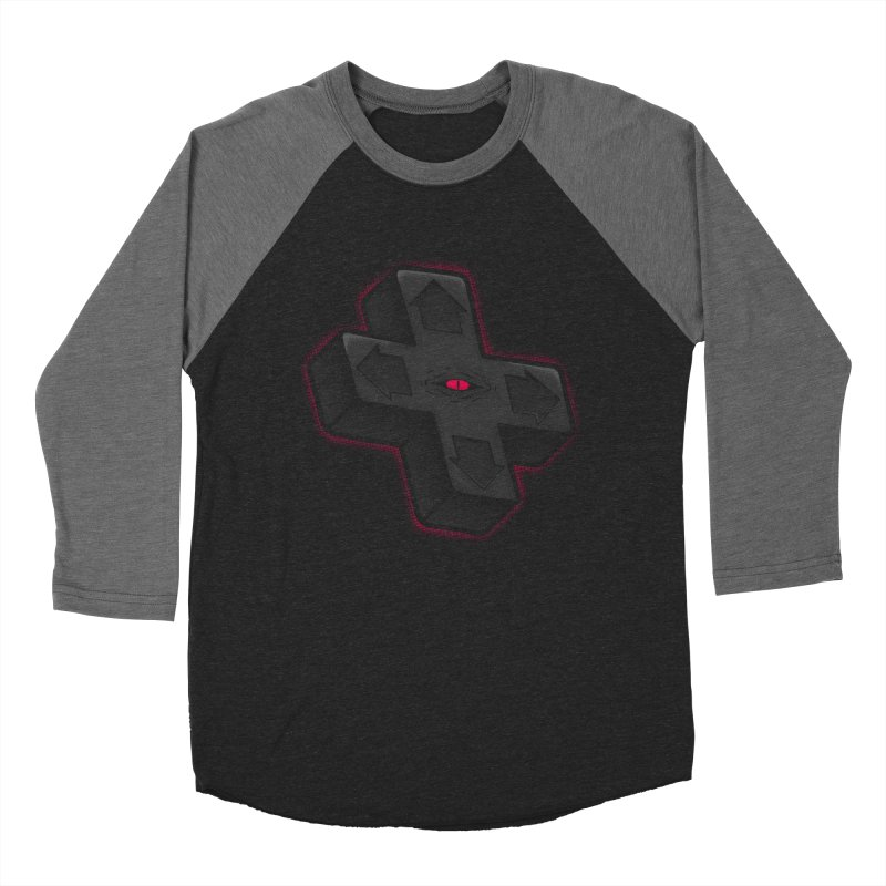THE D-PAD FROM THE BEYOND! Women's Baseball Triblend T-Shirt by UNDEAD MISTER