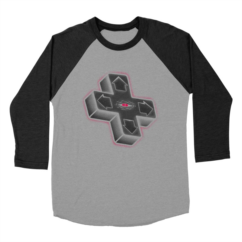 THE D-PAD FROM THE BEYOND! Women's Baseball Triblend Longsleeve T-Shirt by UNDEAD MISTER
