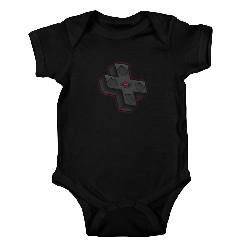 THE D-PAD FROM THE BEYOND! Kids Baby Bodysuit by UNDEAD MISTER