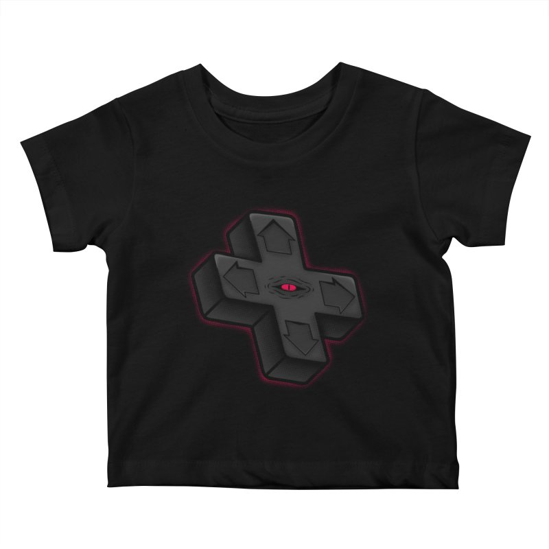 THE D-PAD FROM THE BEYOND! Kids Baby T-Shirt by UNDEAD MISTER