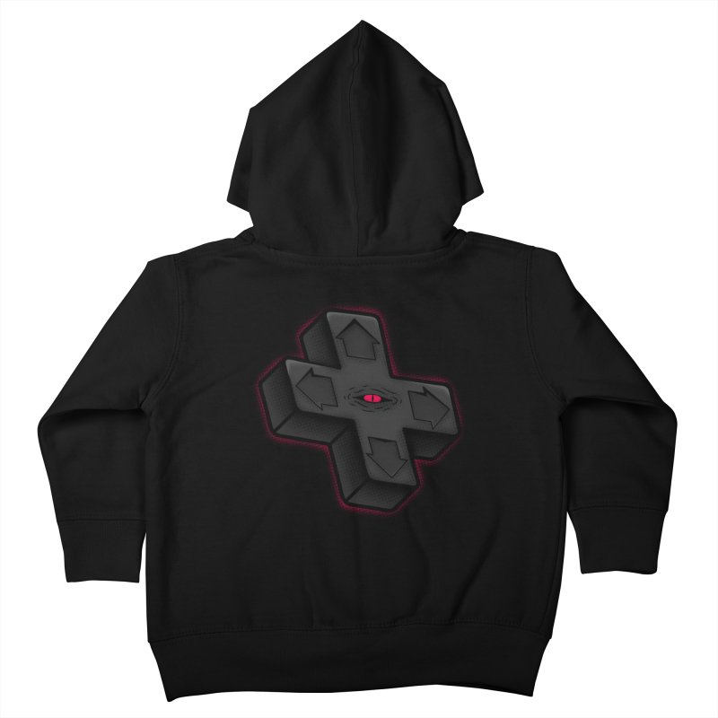 THE D-PAD FROM THE BEYOND! Kids Toddler Zip-Up Hoody by UNDEAD MISTER