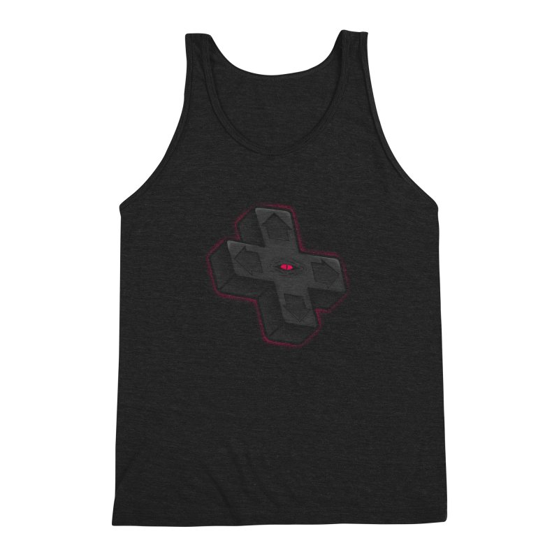 THE D-PAD FROM THE BEYOND! Men's Triblend Tank by UNDEAD MISTER