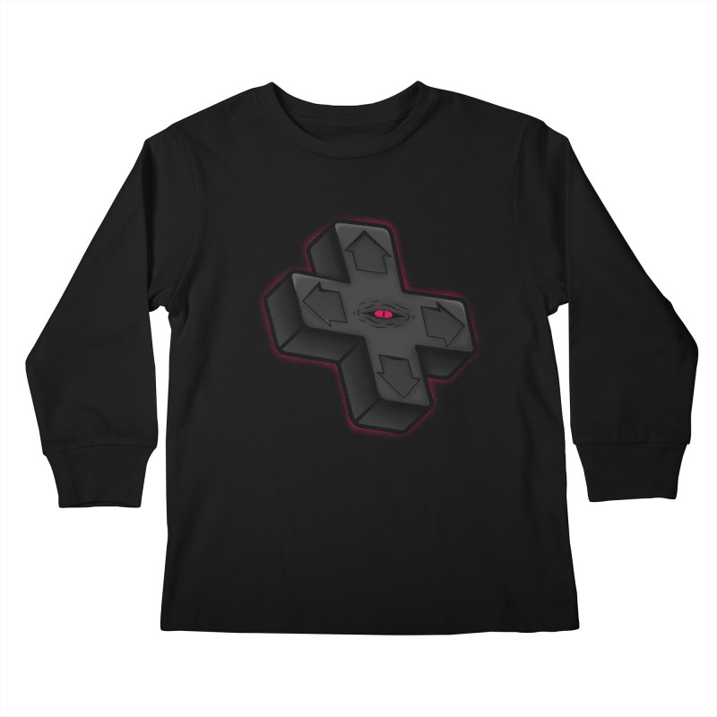 THE D-PAD FROM THE BEYOND! Kids Longsleeve T-Shirt by UNDEAD MISTER