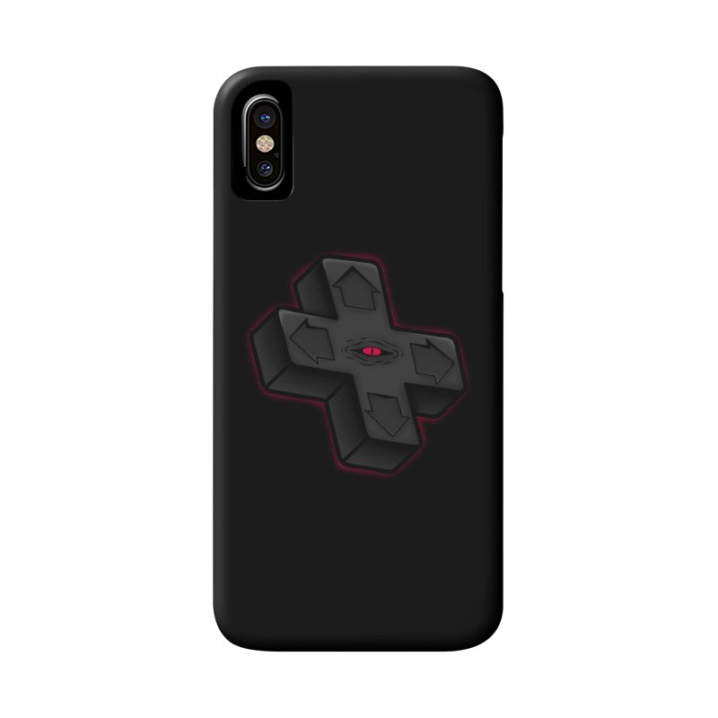 THE D-PAD FROM THE BEYOND! Accessories Phone Case by UNDEAD MISTER