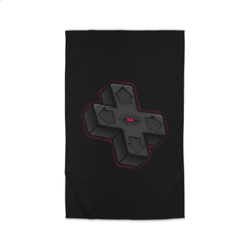 THE D-PAD FROM THE BEYOND! Home Rug by UNDEAD MISTER