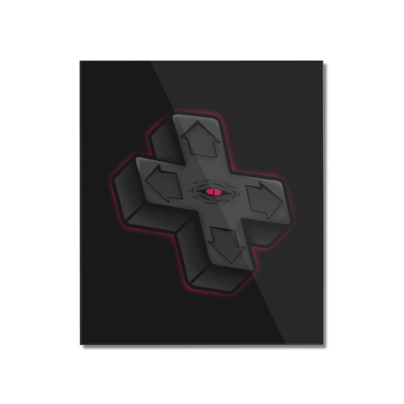 THE D-PAD FROM THE BEYOND! Home Mounted Acrylic Print by UNDEAD MISTER