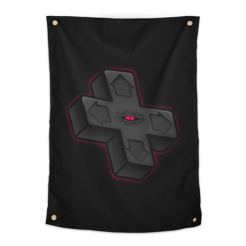 THE D-PAD FROM THE BEYOND! Home Tapestry by UNDEAD MISTER