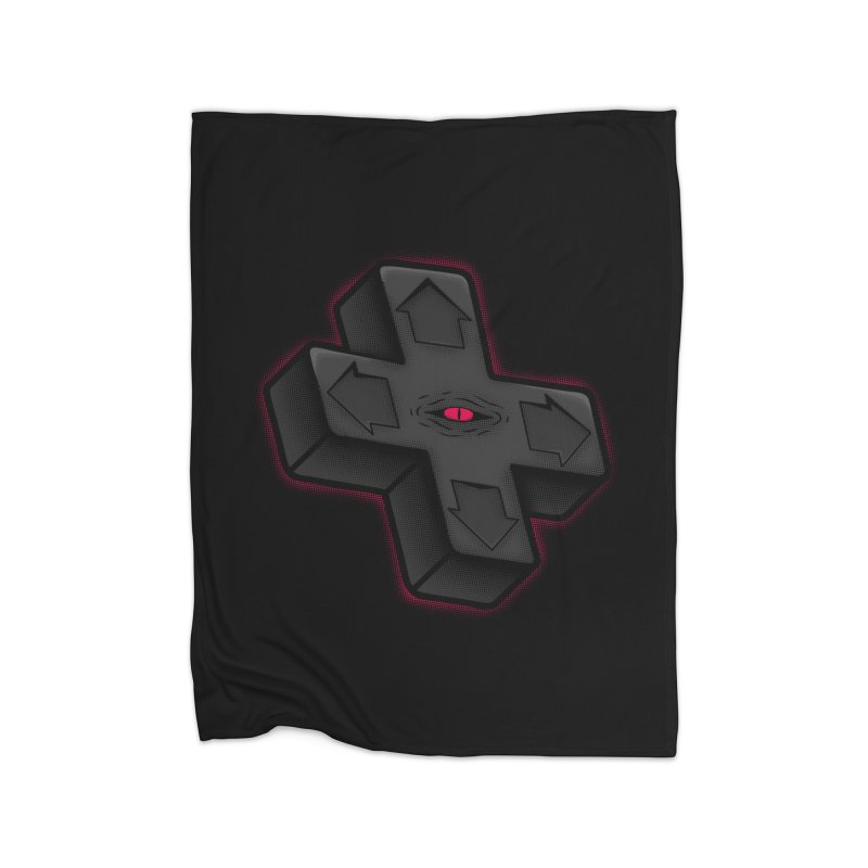 THE D-PAD FROM THE BEYOND! Home Blanket by UNDEAD MISTER