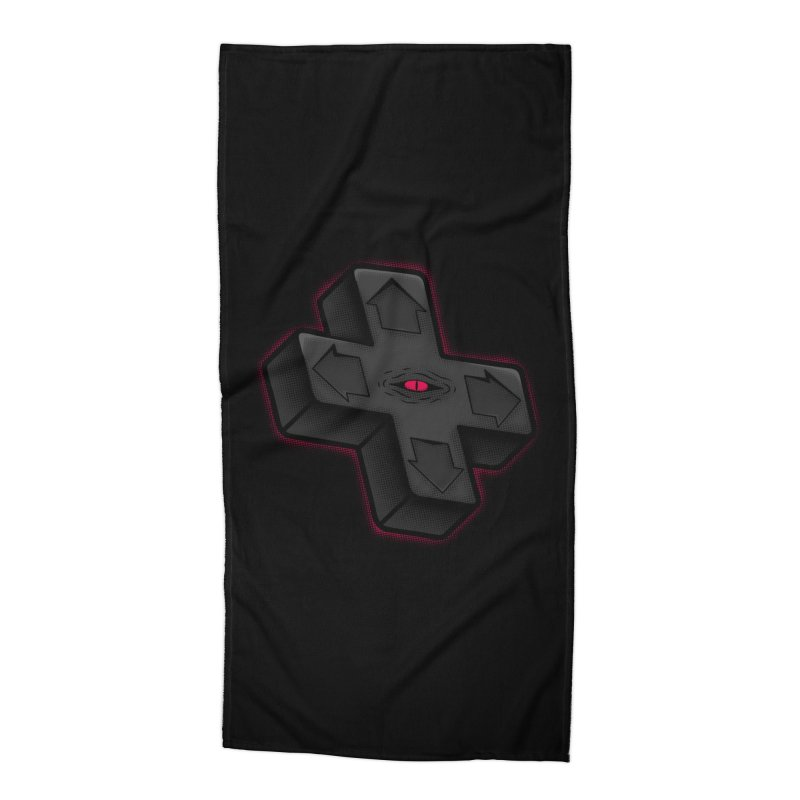 THE D-PAD FROM THE BEYOND! Accessories Beach Towel by UNDEAD MISTER