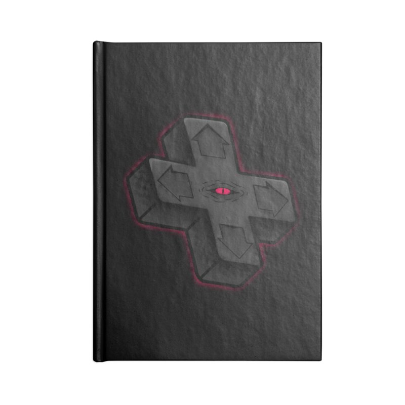 THE D-PAD FROM THE BEYOND! Accessories Notebook by UNDEAD MISTER