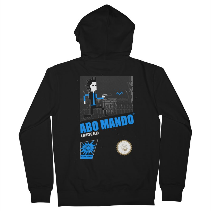 ABO MANDO Men's Zip-Up Hoody by UNDEAD MISTER