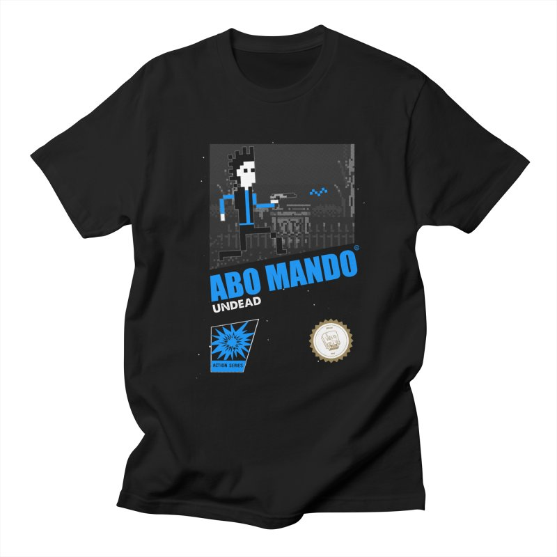 ABO MANDO Women's Regular Unisex T-Shirt by UNDEAD MISTER