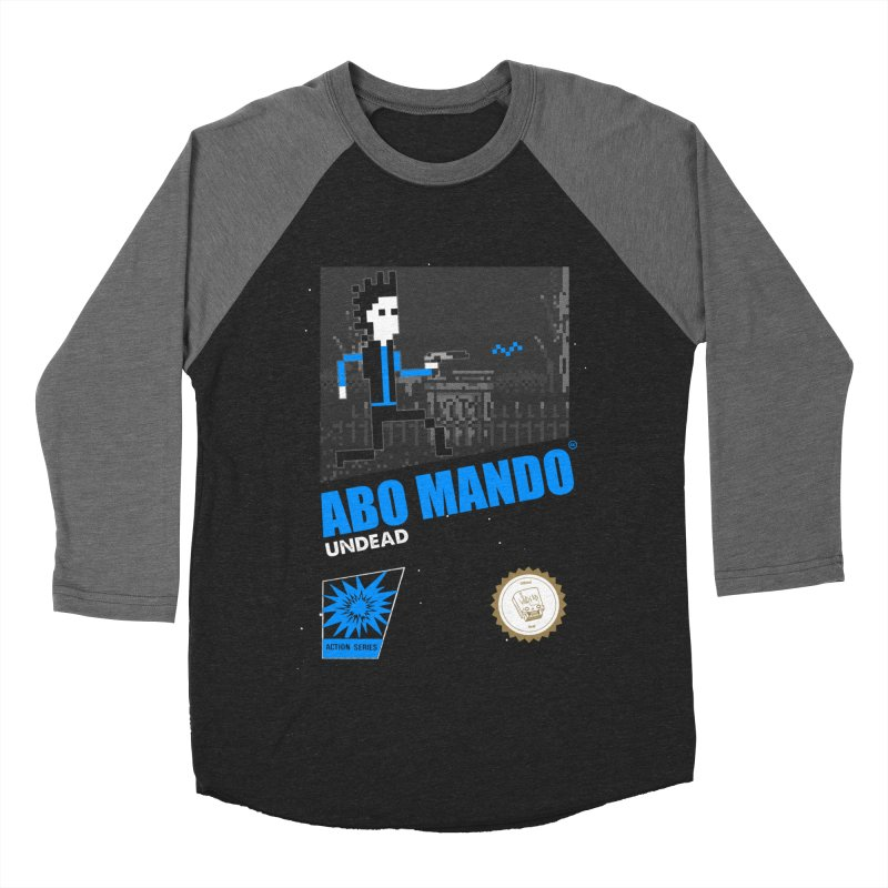 ABO MANDO Women's Baseball Triblend Longsleeve T-Shirt by UNDEAD MISTER
