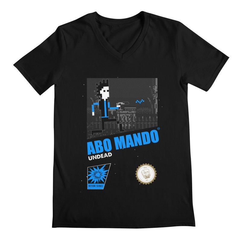 ABO MANDO Men's V-Neck by UNDEAD MISTER