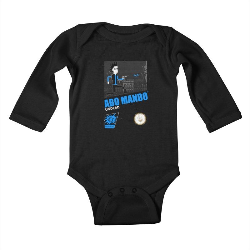 ABO MANDO Kids Baby Longsleeve Bodysuit by UNDEAD MISTER