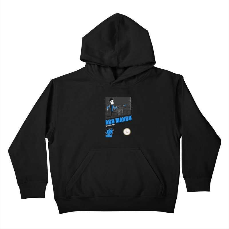 ABO MANDO Kids Pullover Hoody by UNDEAD MISTER