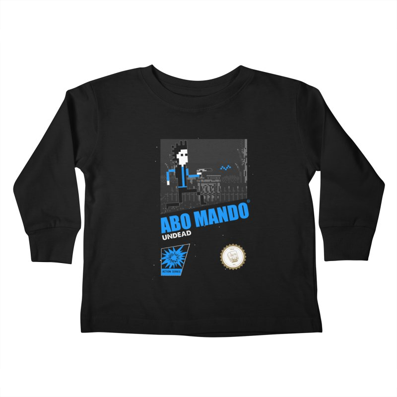 ABO MANDO Kids Toddler Longsleeve T-Shirt by UNDEAD MISTER