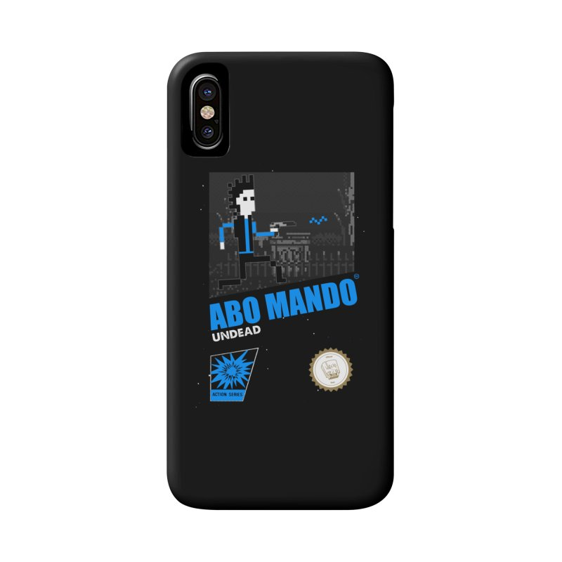 ABO MANDO Accessories Phone Case by UNDEAD MISTER