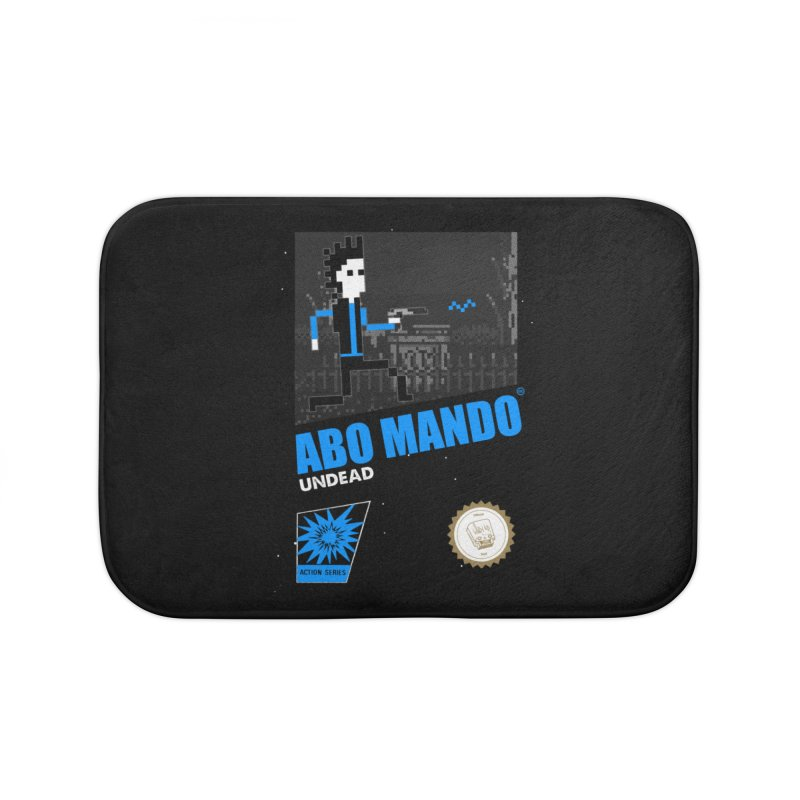 ABO MANDO Home Bath Mat by UNDEAD MISTER