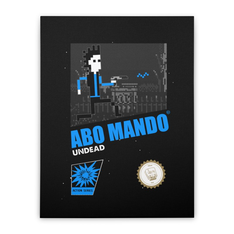 ABO MANDO Home Stretched Canvas by UNDEAD MISTER