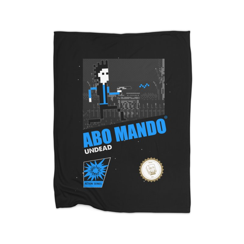 ABO MANDO Home Blanket by UNDEAD MISTER