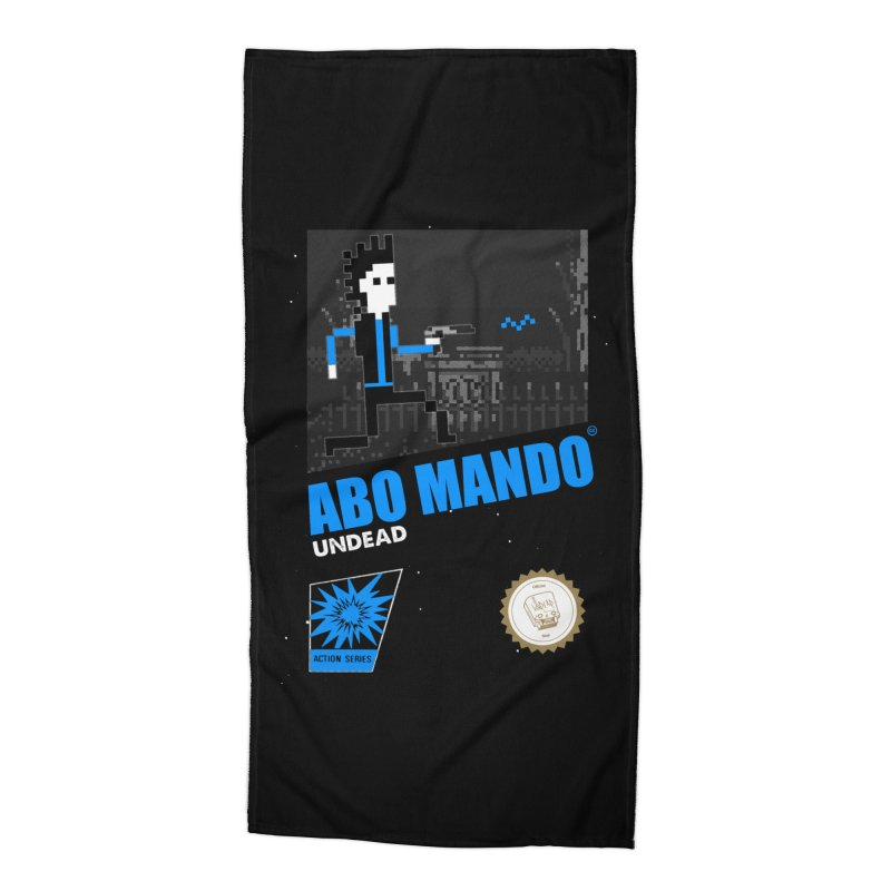 ABO MANDO Accessories Beach Towel by UNDEAD MISTER