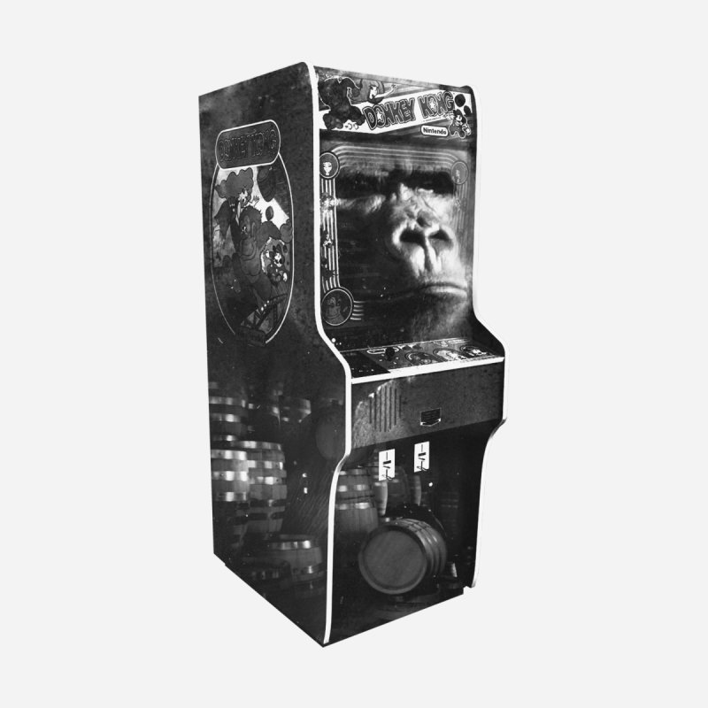 DONKEY KONG ARCADE MACHINE   by UNDEAD MISTER