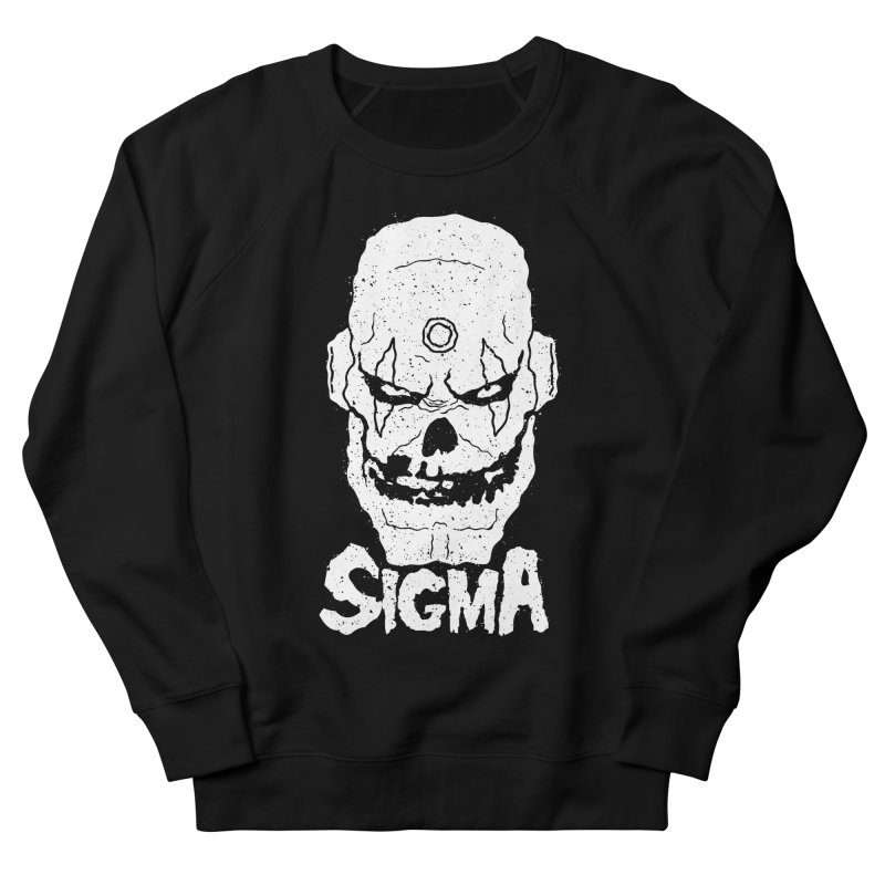 SIGMA, MAVERICKS FIEND CLUB Men's French Terry Sweatshirt by UNDEAD MISTER