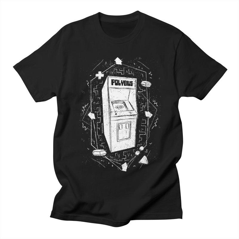 POLYBIUS Women's Regular Unisex T-Shirt by UNDEAD MISTER