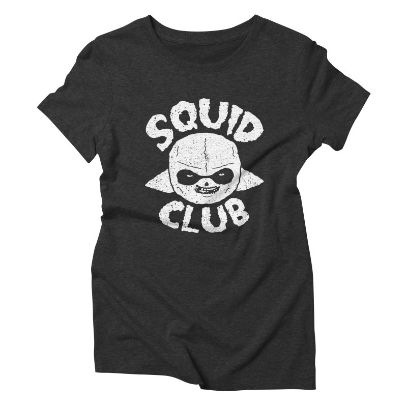 Squid Club Women's Triblend T-Shirt by UNDEAD MISTER