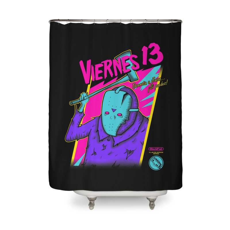 VIERNES 13 Home Shower Curtain by UNDEAD MISTER