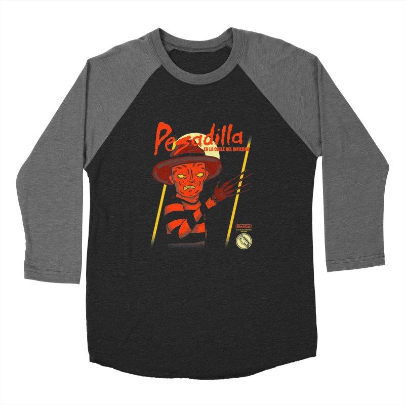 PESADILLA EN LA CALLE DEL INFIERNO Women's Longsleeve T-Shirt by UNDEAD MISTER
