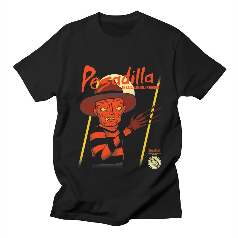 PESADILLA EN LA CALLE DEL INFIERNO Men's Regular T-Shirt by UNDEAD MISTER