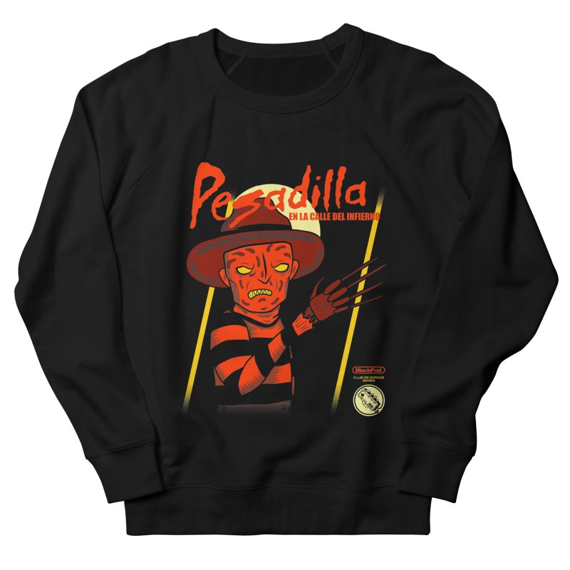 PESADILLA EN LA CALLE DEL INFIERNO Men's French Terry Sweatshirt by UNDEAD MISTER