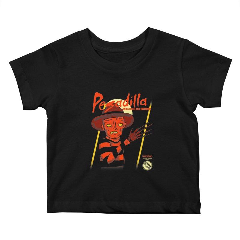 PESADILLA EN LA CALLE DEL INFIERNO Kids Baby T-Shirt by UNDEAD MISTER
