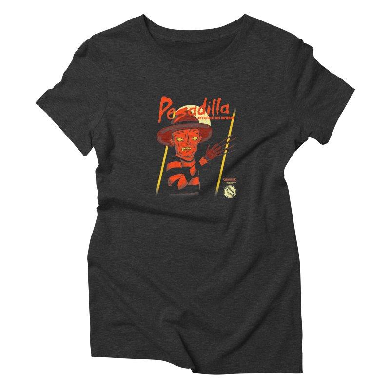 PESADILLA EN LA CALLE DEL INFIERNO Women's T-Shirt by UNDEAD MISTER