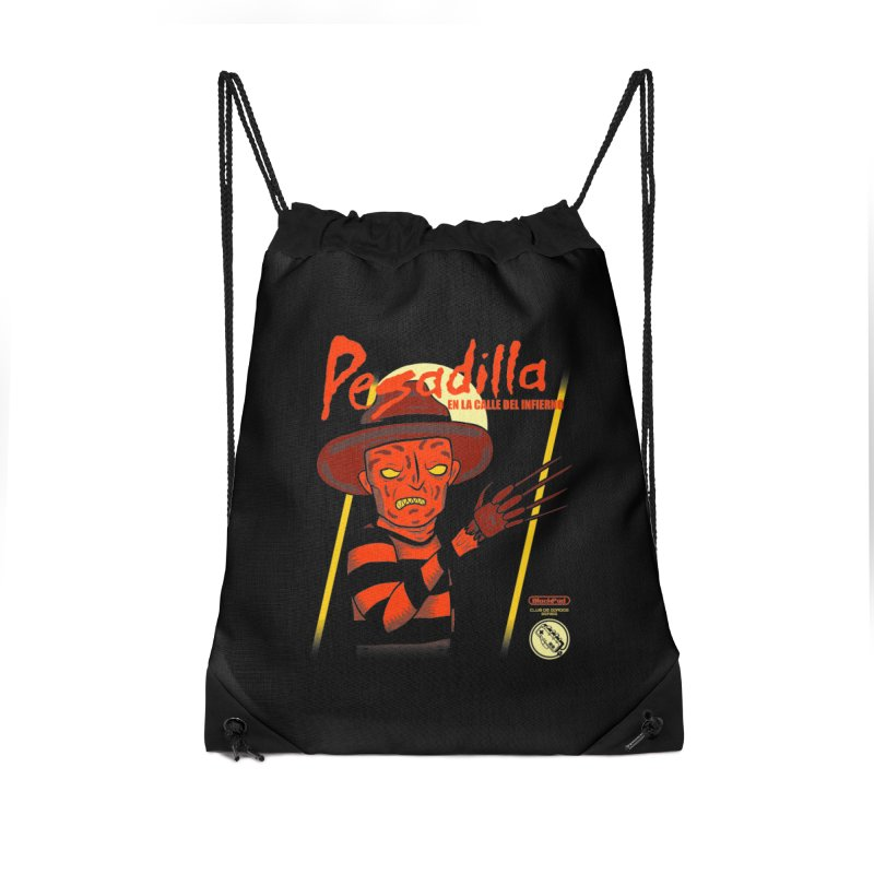 PESADILLA EN LA CALLE DEL INFIERNO Accessories Bag by UNDEAD MISTER