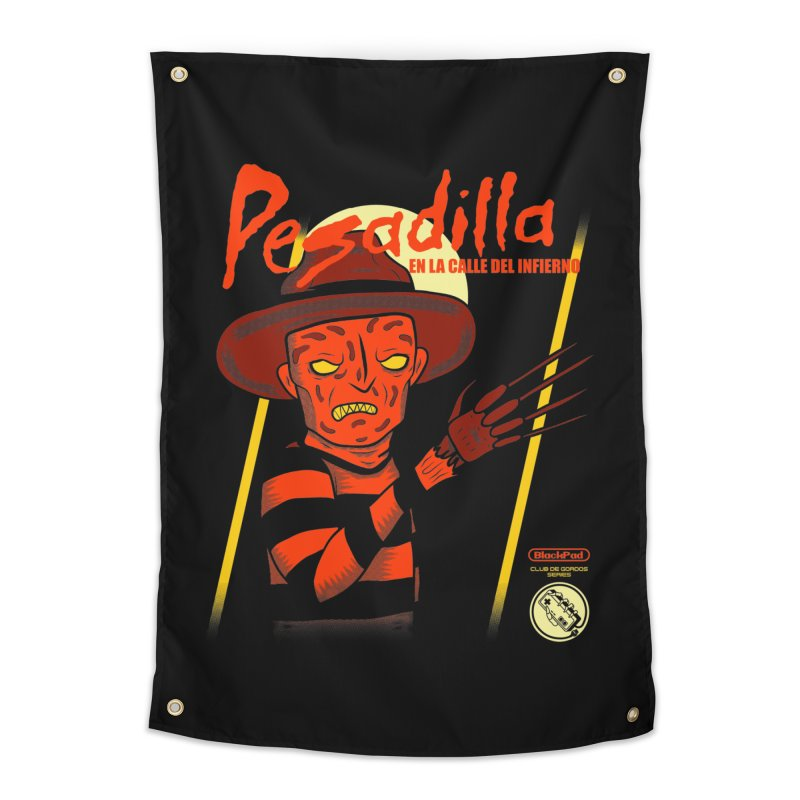 PESADILLA EN LA CALLE DEL INFIERNO Home Tapestry by UNDEAD MISTER