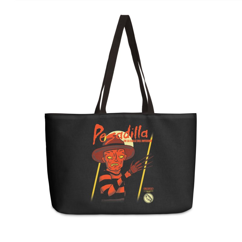PESADILLA EN LA CALLE DEL INFIERNO Accessories Weekender Bag Bag by UNDEAD MISTER