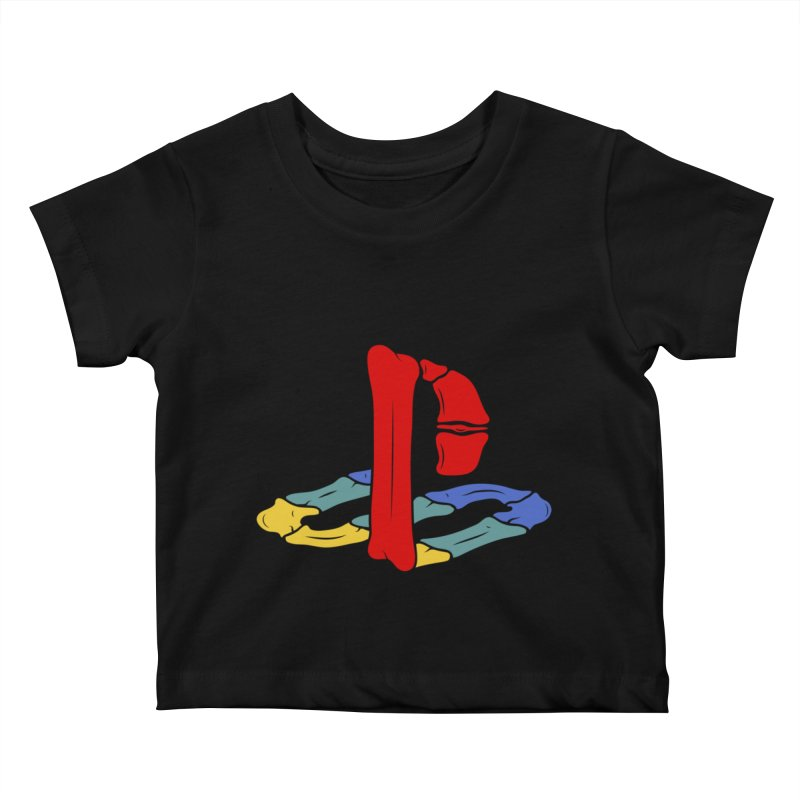 HCKD_PSX Kids Baby T-Shirt by UNDEAD MISTER