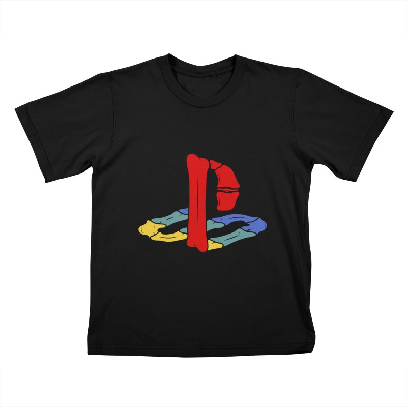 HCKD_PSX Kids T-Shirt by UNDEAD MISTER