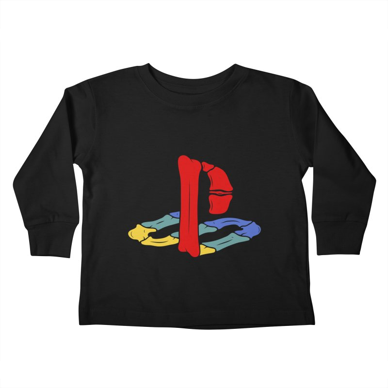 HCKD_PSX Kids Toddler Longsleeve T-Shirt by UNDEAD MISTER