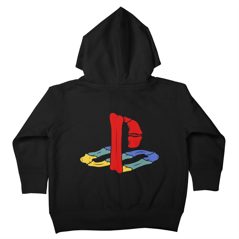 HCKD_PSX Kids Toddler Zip-Up Hoody by UNDEAD MISTER