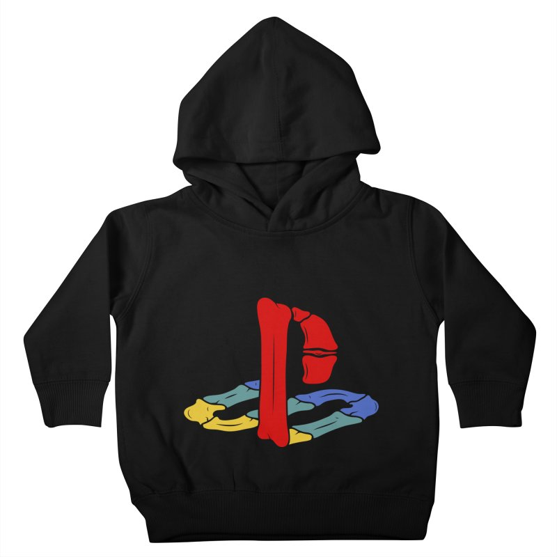 HCKD_PSX Kids Toddler Pullover Hoody by UNDEAD MISTER