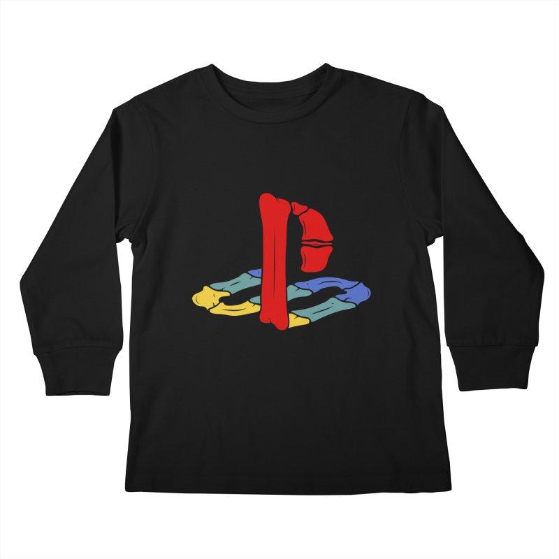 HCKD_PSX Kids Longsleeve T-Shirt by UNDEAD MISTER