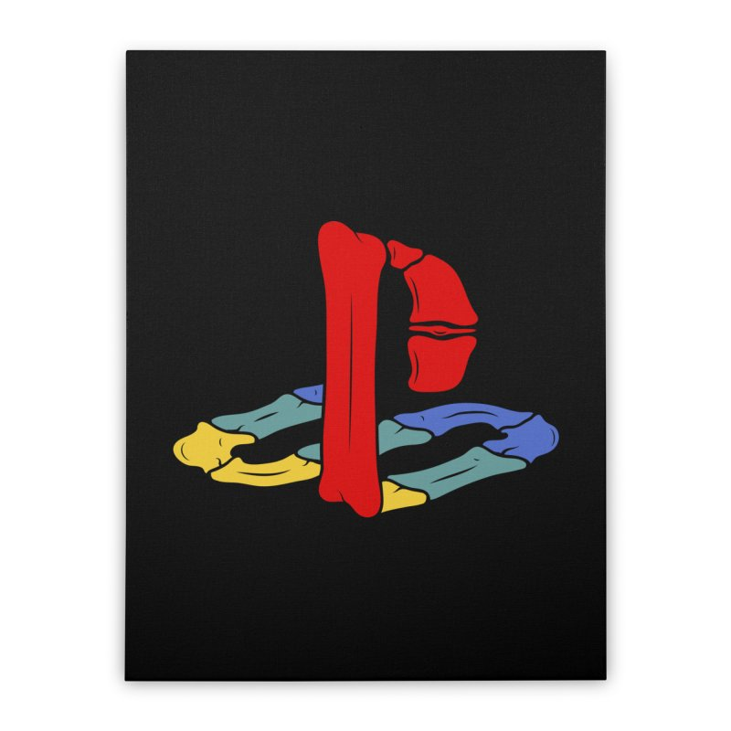 HCKD_PSX Home Stretched Canvas by UNDEAD MISTER