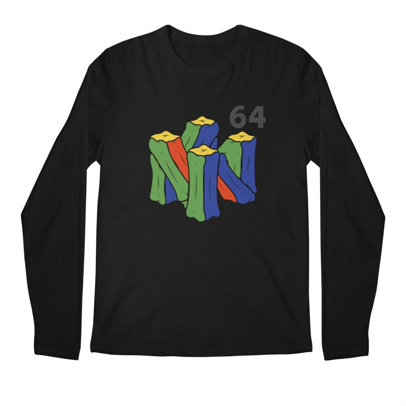 HCKD_N64 Men's Longsleeve T-Shirt by UNDEAD MISTER